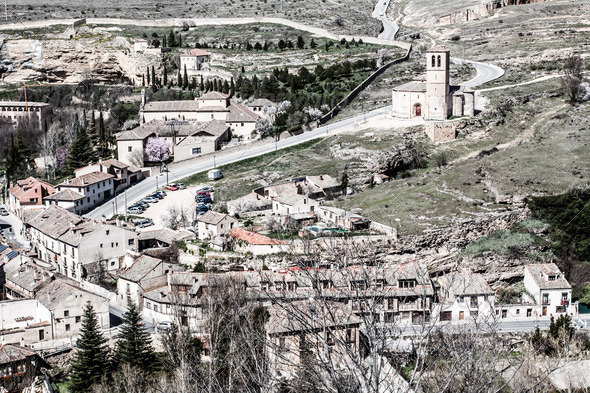 PhotoDune The famous Alcazar of Segovia Castilla y Leon Spain 3822372