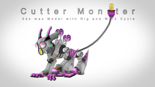 3DOcean Cutter monster 3822806