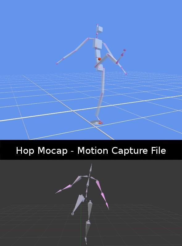 3DOcean Kick Mocap 411619