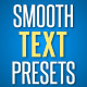 Smooth Text Presets - VideoHive Item for Sale
