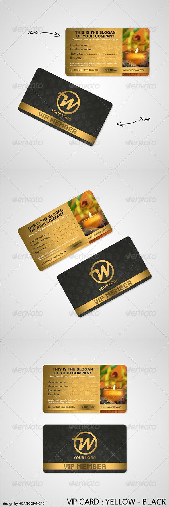 GraphicRiver Luxury Spa Vip Card 3824902