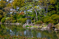 Japanese Garden with Stone Lantern - PhotoDune Item for Sale