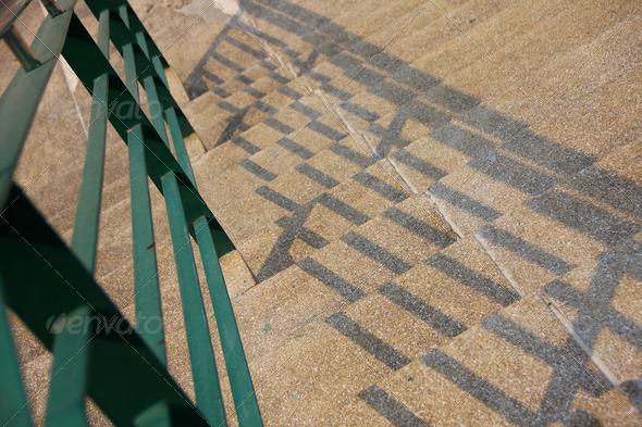 PhotoDune step and handrail 3825269