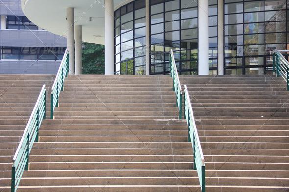 PhotoDune step and handrail 3825264