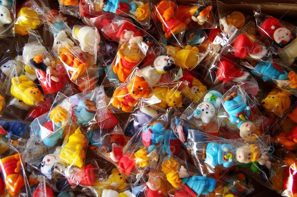 PhotoDune doll in plastic bag 3825267