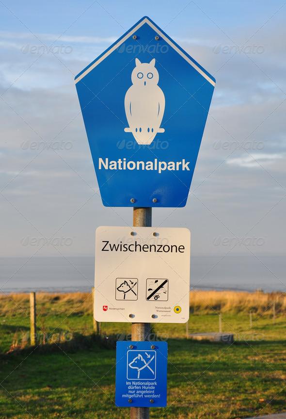 PhotoDune Sign national park 3825113
