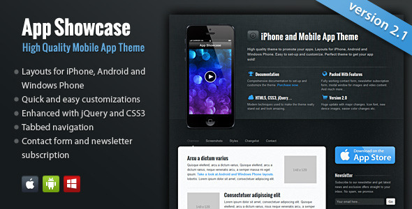 App Showcase - iPhone and Mobile App - Apps Technology