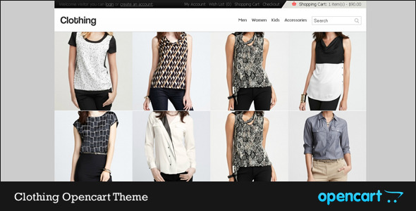 Clothing Opencart Theme - Clothing Opencart Theme