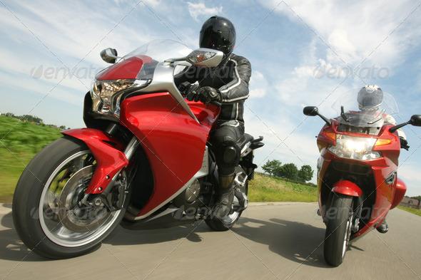 PhotoDune Driving Motorbikes 411841