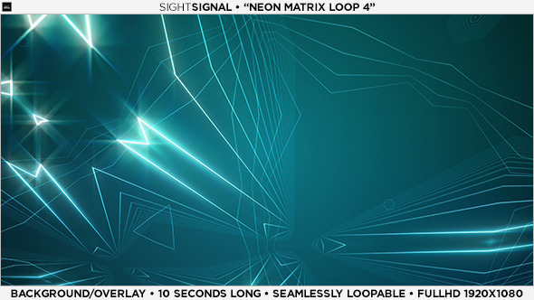 Neon Matrix Loop 4