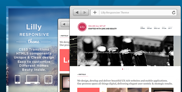 Lilly Responsive Theme