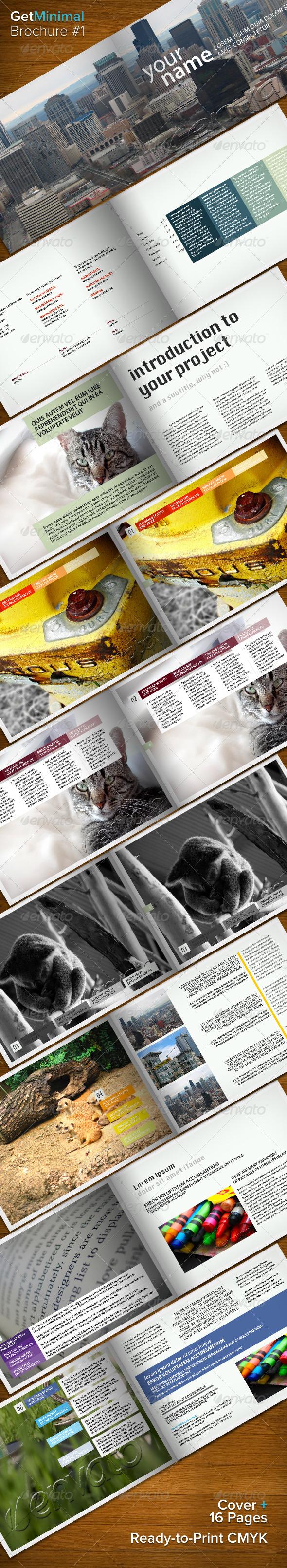 Get Minimal - Brochure 01 - Corporate Brochures