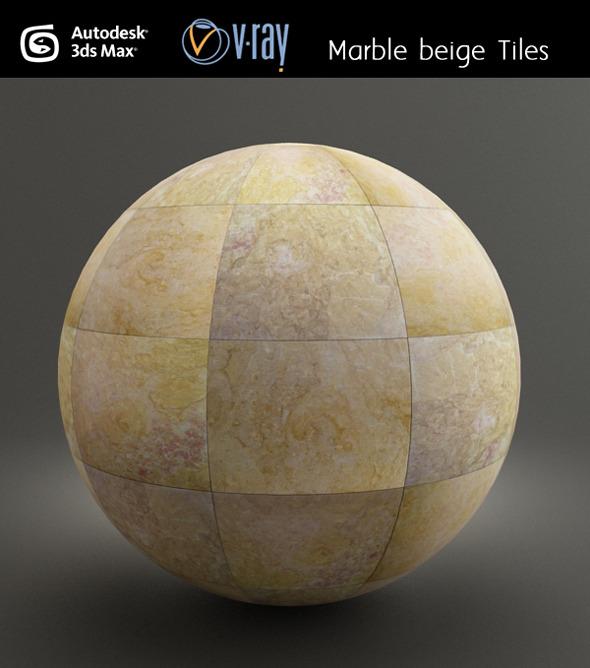 Marble Beige Tiles - 3DOcean Item for Sale