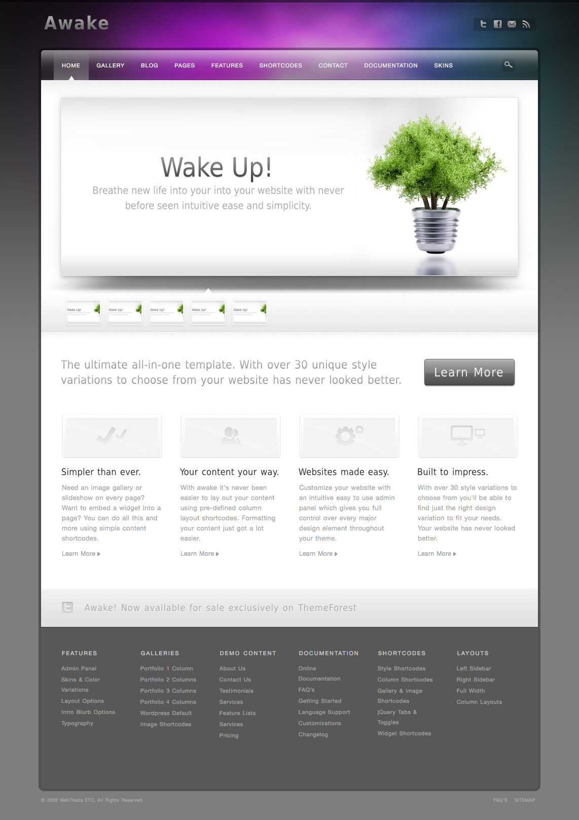 Awake - Powerful Professional WordPress Theme