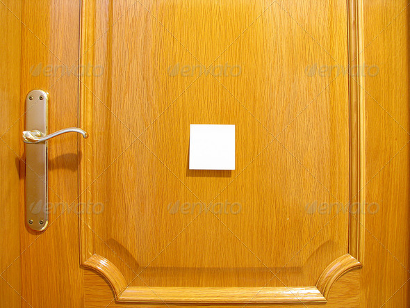 PhotoDune door to put a posit Messages 3826685