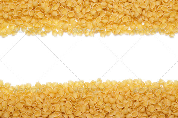PhotoDune Uncooked Macaroni Background With Copy Space 3826847