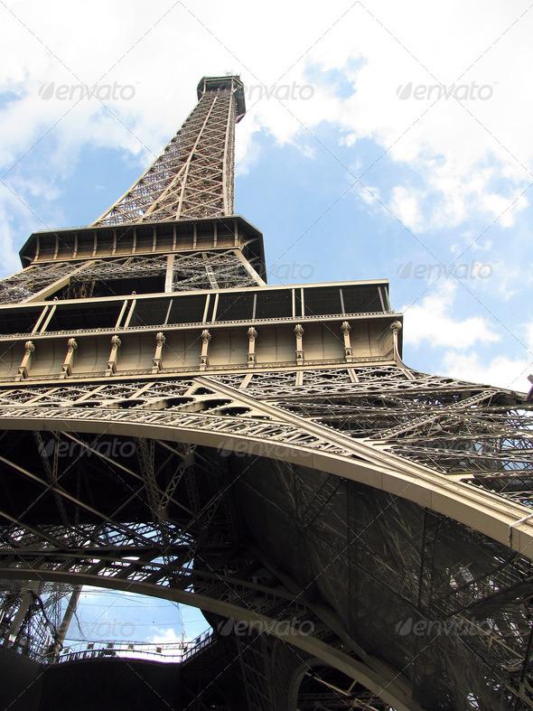 PhotoDune Eiffel Tower look 3826728