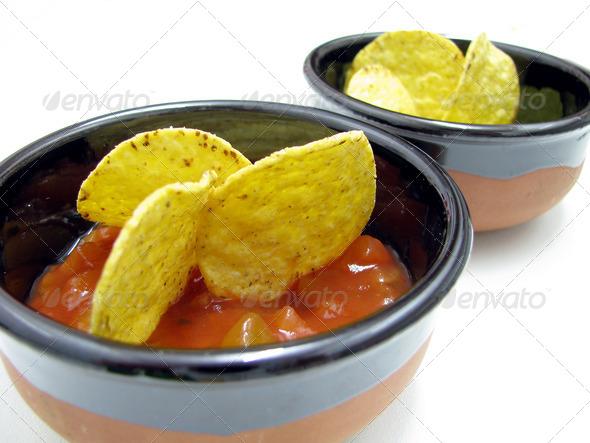 PhotoDune mexican nachos and salsa dip 3826766