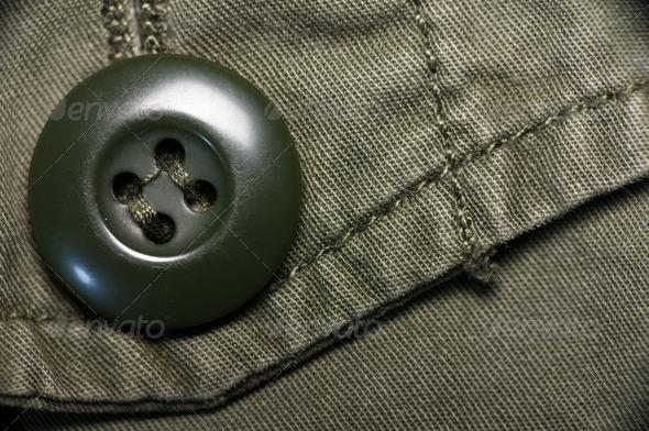 PhotoDune Macro shot of green textured garment 3826807