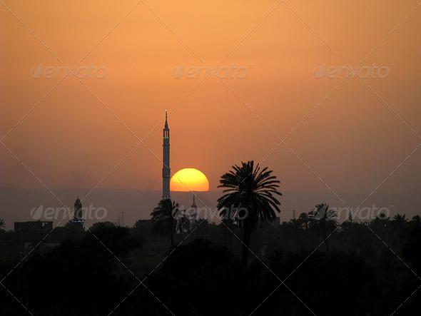 PhotoDune The Nile sunset 3826834