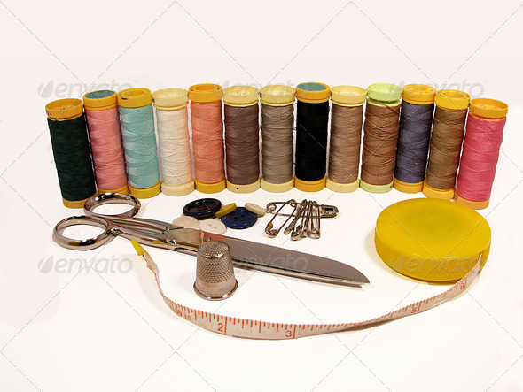 PhotoDune Thread Spools 3826835