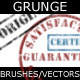 Grunge Brush/Vector Stamp Set - GraphicRiver Item for Sale