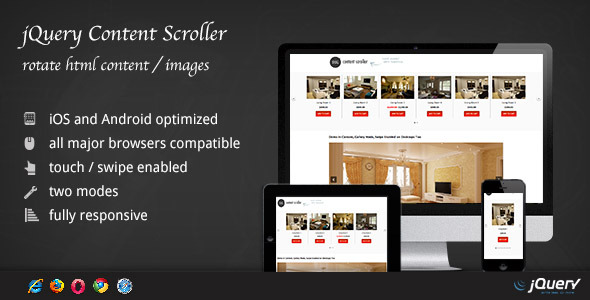 CodeCanyon jQuery Content Scroller DZS 3827946