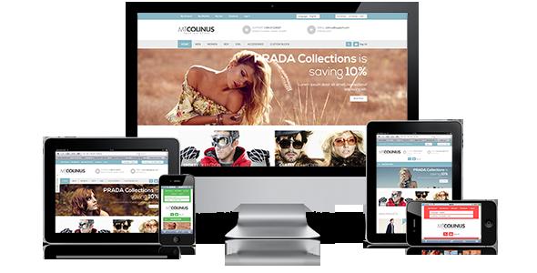 Responsive magento theme MT Colinus - Magento eCommerce