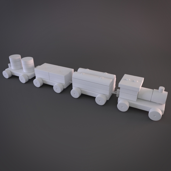 Modular Hy-rez Toy Train