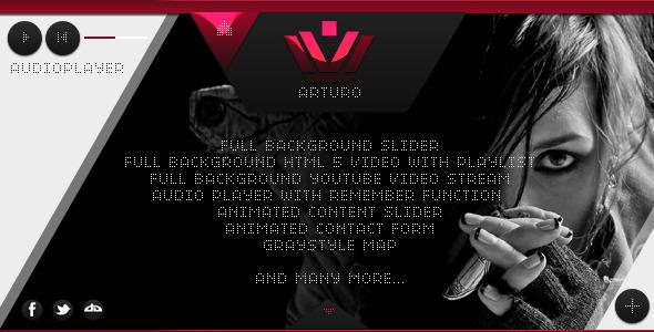 ThemeForest Arturo Creative Portfolio 3820271