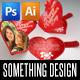 Valentine's Day Heart Locker Card - GraphicRiver Item for Sale