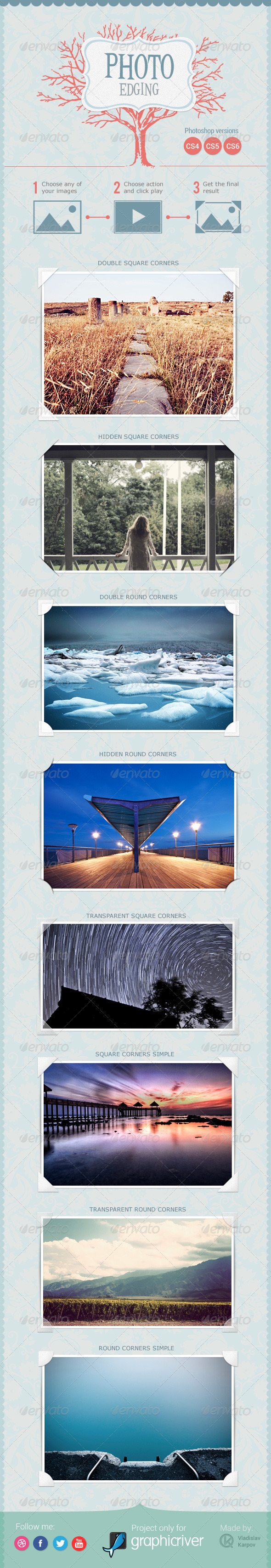 GraphicRiver Photo Edging 3830444