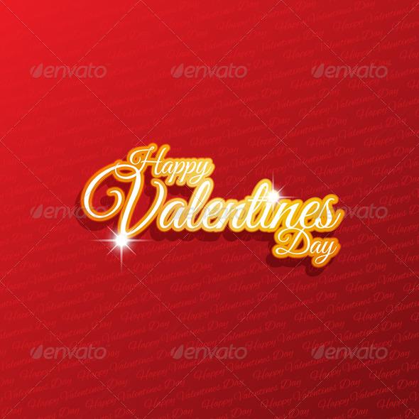 GraphicRiver Valentines Day Background 3831182