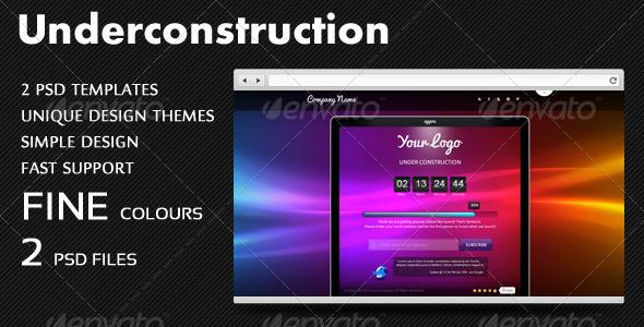 GraphicRiver Website Underconstruction 3760718