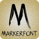 Marker Font - GraphicRiver Item for Sale