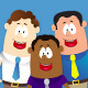Ethnic Business Cartoon Mascots - VideoHive Item for Sale