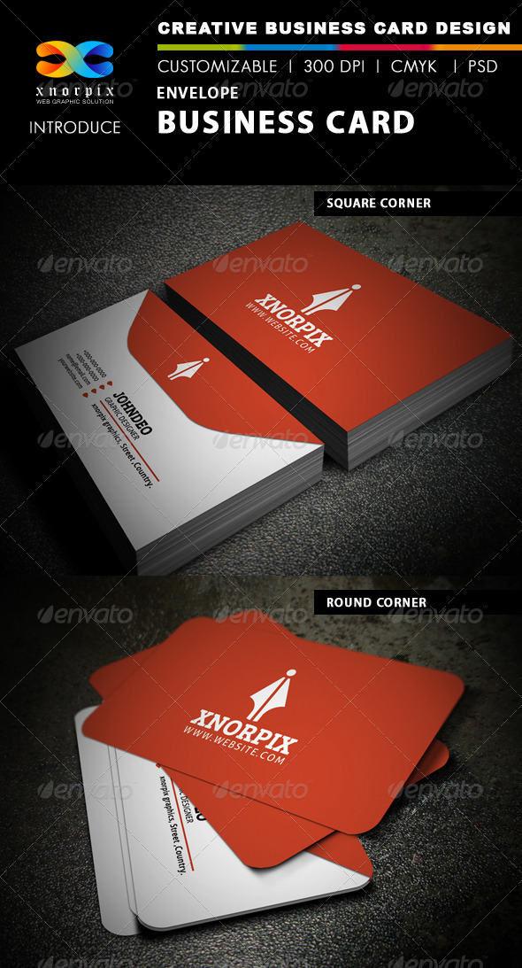 Envelope Business Card - Creative Business Cards