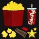 Popcorn Movie Items - GraphicRiver Item for Sale