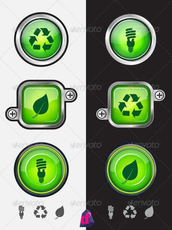 GraphicRiver Recycle Symbols 3832305
