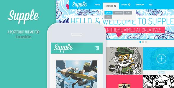ThemeForest Supple A Portfolio Theme for Tumblr 3833057