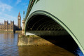 Westminster Bridge and Elizabeth Tower in London - PhotoDune Item for Sale