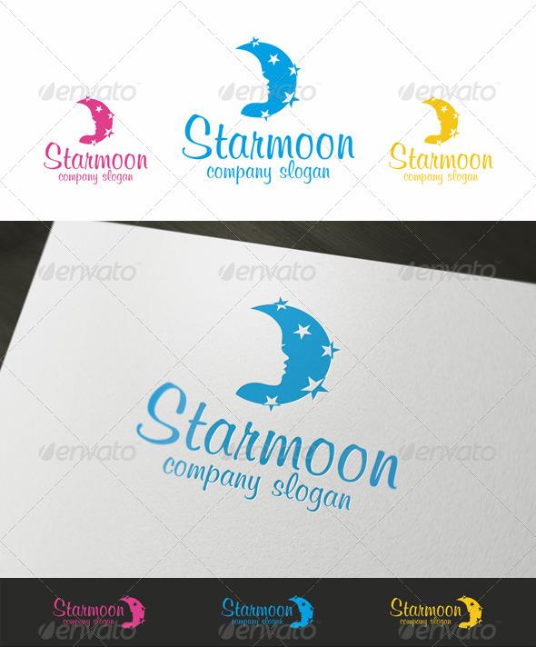 GraphicRiver Night Spa Beauty Logo 3730481