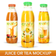 Juice or Tea Bottle Mockup - GraphicRiver Item for Sale