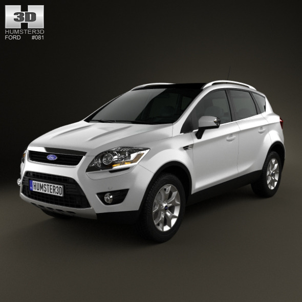 Ford Kuga 2012 - 3DOcean Item for Sale