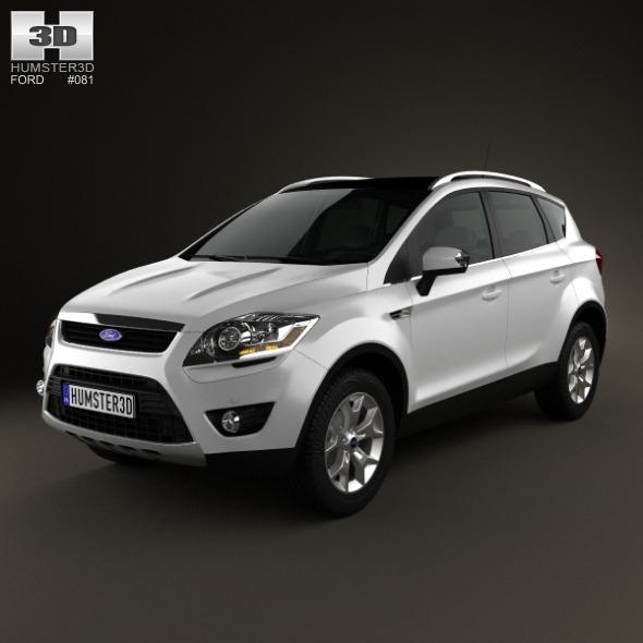 3DOcean Ford Kuga 2012 3834384