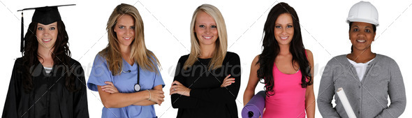 Group of Women - Stock Photo - Images