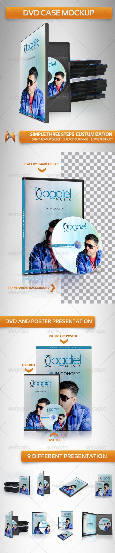 GraphicRiver DVD Case Mockup 3835587