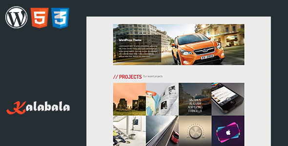 ThemeForest Kalabala Wordpress Responsive Theme 3792374