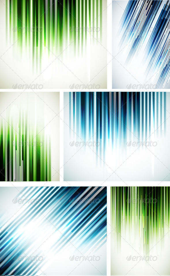 GraphicRiver Shiny Straight Lines Background 3835903