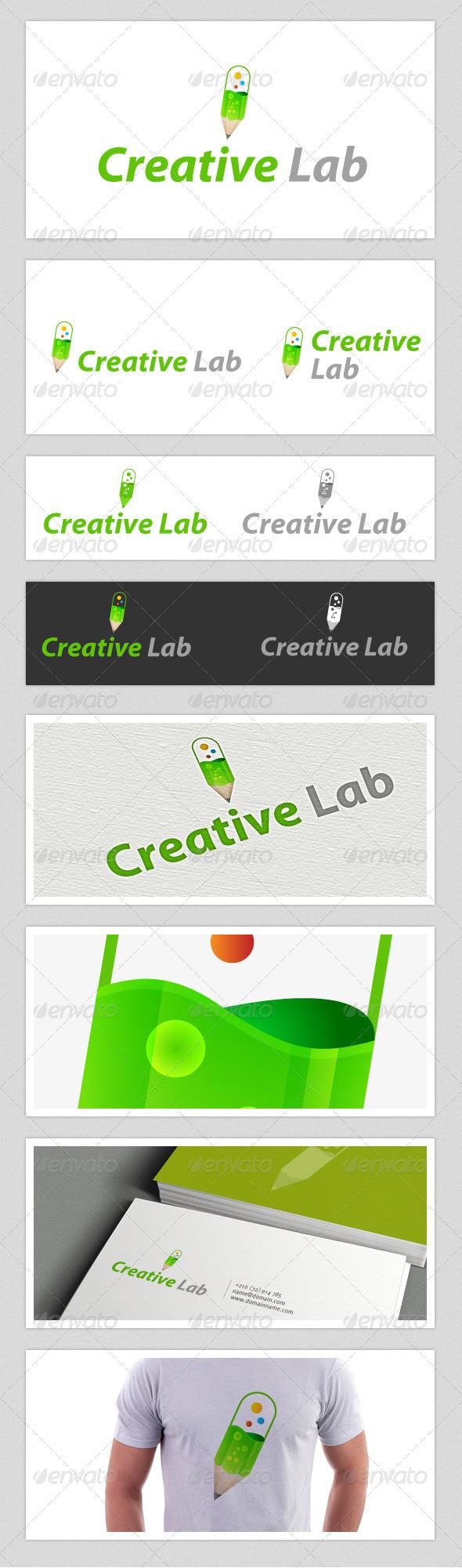 GraphicRiver Creative Lab Logo 3711892